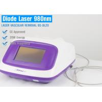 Wholesale 980nm Solid Diode Laser Beauty Machine For Vascular Removal / Spider Vein Removal from china suppliers