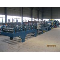 Wholesale Insulation Sandwich Panel Roll Forming Machine 28KW 3-7m/min from china suppliers