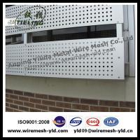 Wholesale Round hole perforated metal for decorative screen from china suppliers