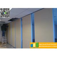 Quality Aluminum High Partition Acoustic Soundproof Multilayer Structure Sliding Room Dividers for sale