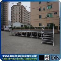 Buy cheap Non-slip Aluminum adjustable concert stage US popular event stage from wholesalers