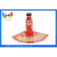 Wholesale Eco Friendly Juice Drink Bottle Labels PETG Shrink Wrap Sleeve No Benzene , 40 Mic from china suppliers