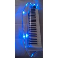 2017 Fashion New Design Crystal MIDI keyboard