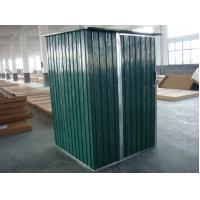 Wholesale OEM Movable Portable Metal Tool Shed With 10yrs Anti-rusting Warranty 6x4 / 4x4 feet from china suppliers