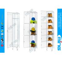 Wholesale Single Wire Display Stands Wire Mesh Lockers in Zinc Plating from china suppliers