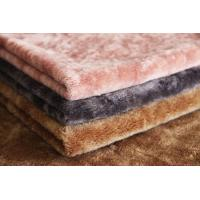 Wholesale Heavy Weight 100% Merino Wool Sheep Shearing Colorful Faux Fur Fabric from china suppliers