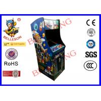 Wholesale Classic Wonder boy upright arcade machine 19 Inch LCD Screen Credit Buttons Sanwa Joysticks from china suppliers