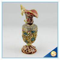 Wholesale Hot Sale Vase Trinket Box Crystal Hollowed-out Jewelry Box SCJ593 from china suppliers