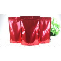 Wholesale Red Aluminum Foil Bags High Barrier Dried Fruits Foil Zipper Bags from china suppliers