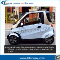 Wholesale driving speed 55km/h export to Korea four wheel 4kw motor electric vehicle car from china suppliers