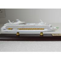 Wholesale Holland Yacht Toy Cruise Ship Model With Single Piece Assembly Anchor Material from china suppliers