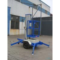 Wholesale One Mast 8m Aerial Work Platform , 125Kg Towing type from china suppliers