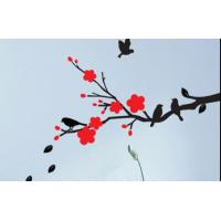 Wholesale The Classic Attractive Art Plum Flower Wall Sticker F130 from china suppliers