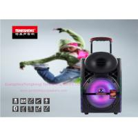 Wholesale Indoor Portable Amplifier Speaker 12 Inch Full Range with LED Light from china suppliers