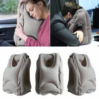 Wholesale Woollip Soft Inflatable Air Travel Pillow Neck Suitable for Comfortable Sleep Travel pillow GK-TP01 from china suppliers