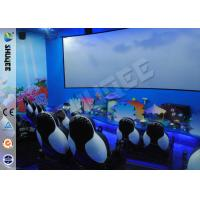 Wholesale Customized 5D Movie Theater Equipment With Bubble / Smog Special Effects from china suppliers