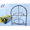 Buy cheap Popular 2- tier dessert holder/ dish holder/ plate holder from wholesalers
