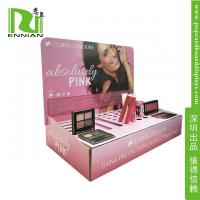 Wholesale Make-up POP Cardboard Displays Counter / Paper material Retail Display Racks from china suppliers