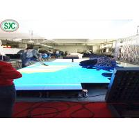 Wholesale SMD3528 Indoor P8.928 Led Dance Floors For Weddings , 250 X250mm Led Module from china suppliers