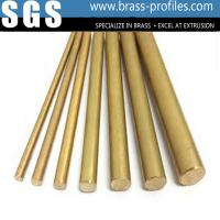 Wholesale Goolden Materials Brass Strip Profiles C3800 Brass Rods Strips from china suppliers