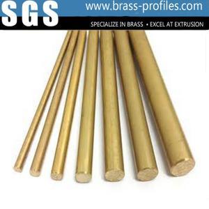 Buy cheap Goolden Materials Brass Strip Profiles C3800 Brass Rods Strips from wholesalers