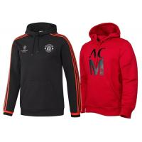 Wholesale Manchester Soccer Fans Gift Football Club Hoodies Parody Hoodie AC Milan Custom Printed from china suppliers