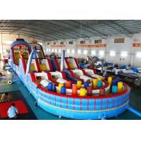 Wholesale Giant Adult Inflatable Obstacle Challenges With Digital Printing from china suppliers