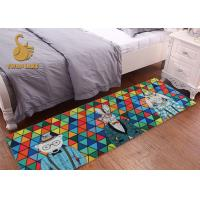 Wholesale Fashion Pattern Small Bedside Rugs Slip Resistant For Washroom / Sofa from china suppliers