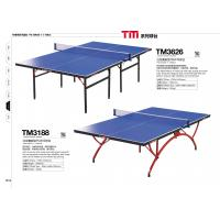 Wholesale Professional Indoor Small Table Tennis Table Full Size With Blue Tabletop from china suppliers