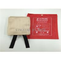 Wholesale Flame Resistant Emergency Fire Blanket Moisture Proof Satin / Plain / Twill Weaving from china suppliers