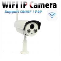 Wholesale 1.0 Megapixel ONVIF Outdoor Wireless IP Camera For Home , 360 Degree Analog from china suppliers