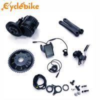 Wholesale 48v 1000w Electric Bike Mid Motor Chain Wheel 46T BB 68mm /100mm , Mid Drive Motor Kit from china suppliers