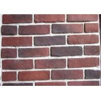 Wholesale Anti Water Outdoor Fake Brick Wall Covering , Painting Exterior Brick Veneer from china suppliers