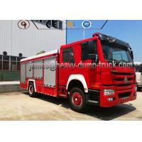 Wholesale 4X2 Sinotruk Water And Foam Tanker Firefighter Truck With Diesel Fuel Type from china suppliers