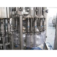 Quality Multifunction 3 In 1 Filling Machine For Mineral / Pure / Non-Carbonated / Distilled Water for sale