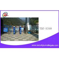 Wholesale Mechanical Tripod Turnstile Gate Automatic with fingerprint Directional from china suppliers