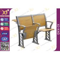 Wholesale Folded Three Person College Desk And Chair Set For Student from china suppliers