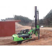 Wholesale Hydraulic Piling Rig Machine , Foundation Drilling Equipment 72 M / Min Main Winch Line Speed TYSIM KR90C from china suppliers