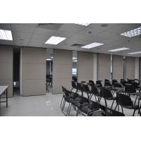 Wholesale Custom Wooden Surface Movable Sliding High Office Partition Walls 85mm Width from china suppliers