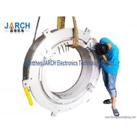 Quality ROHS 2 ~ 12 Conductors Big Through Hole Slip Ring 1000mm / Industrial Slip Rings for sale