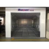 Wholesale 6.9m Waterborne System Auto Paint Booth Infrared Heating High Efficiency For Garage Usage from china suppliers