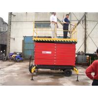Wholesale 10m 320KG automatic Mobile Aerial Work Platform Hydraulic Actuation from china suppliers