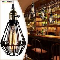 Wholesale E27 socket Loft Droplight Retro Pendant Lights Mediterranean Sea Style Lamp 110-220v classicality Pendant lighting BS from china suppliers