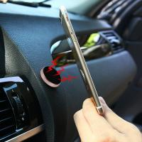 Wholesale Universal Cell Phone Stand Holder Magnetic Car Holder Stick On Dashboard , Easy Operation from china suppliers