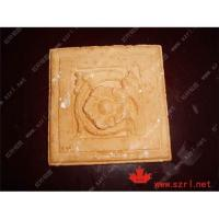 China silicone rubber for plaster casting cornice mold on sale