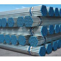 Wholesale Q235B Hot DIP Galvanized Steel Pipes, Plain End Galvanized Tube For Low Pressure Liquid Delivery from china suppliers