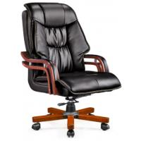 Wholesale Hot selling wooden office chair leather boss chair from china suppliers