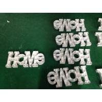 Wholesale White LED Lighted Channel Letter Signs Love Letter For Wedding Decoration from china suppliers