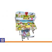 Wholesale Custom Snow White Kids' Study Table with Chair Home Study Furniture for Children from china suppliers