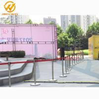 Wholesale Airport/Bank/Events Crowd Control Stainless Steel Retractable Belt Queue Barrier from china suppliers
